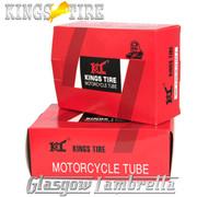 Set 2 x Lambretta KINGS TIRE INNER TUBES 350x10 Li/SX/TV/GP + FREE Valve Spanner