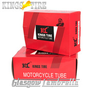 """Set 2 x Vespa  8"""" Wheel KINGS TIRE SCOOTER INNER TUBE 350 x 8 & 400 x 8 + FREE Valve Spanner"""