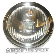 Vespa Rally / Sprint / Veloce Scooter HEADLAMP / HEADLIGHT UNIT with CHROME SURROUND