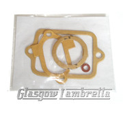 Lambretta Scooter 22mm CARB / CARBURETTOR GASKET SET Dellorto / Jetex