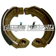 FERODO Vespa PX, T5 / LML non-disc 2 Sets of BRAKE SHOES for FRONT & REAR