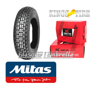Mitas B13 350 x 8 Single + INNER TUBE for Vespa Sportique, Super, VBB, Douglas