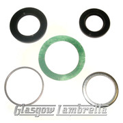 Lambretta Series 2 & 3 MAG HOUSING SEAL REPAIR KIT for NU205 bearing Li, TV, SX, Special