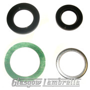 Lambretta GP MAG HOUSING SEAL REPAIR KIT + Li, TV, SX models using NU2205 bearing
