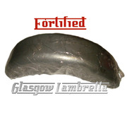 FORTIFIED Lambretta Series 3 & GP REAR MUDGUARD Li/TV/SX/Special Innocenti spec