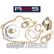 RMS Vespa P200e Scooter Italian Autolube COMPLETE ENGINE GASKET SET