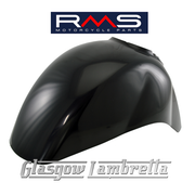 RMS Vespa GTS Auto Scooter Italian FRONT MUDGUARD (BLACK METAL)