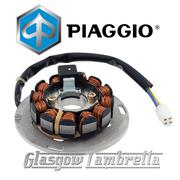 Genuine Piaggio Italian Vespa PX 125/150 Scooter 2014 onwards STATOR PLATE