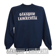 GLASGOW LAMBRETTA LIGHT NAVY BLUE SWEATSHIRT