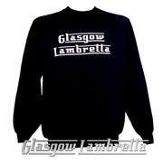 GLASGOW LAMBRETTA DARK NAVY BLUE SWEATSHIRT