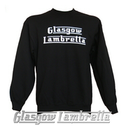 GLASGOW LAMBRETTA BLACK SWEATSHIRT