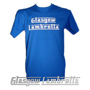 GLASGOW LAMBRETTA ROYAL BLUE T-SHIRT