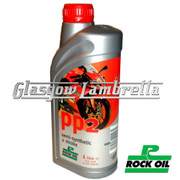 ROCK OIL PP2 SEMI-SYNTHETIC 2 STROKE ENGINE OIL 1 Litre Bottle