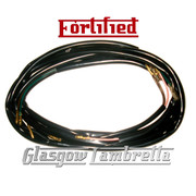 FORTIFIED Lambretta Series 2, 3 & GP 12V ELECTRONIC IGNITION  BLACK WIRING LOOM Li, TV, SX, Special