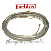 FORTIFIED Lambretta Series 2, 3 & GP 12V ELECTRONIC IGNITION GREY WIRING LOOM Li, TV, SX, Special
