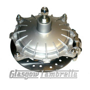 Lambretta Series 1, 2, 3 & GP HYDRAULIC OUTBOARD FRONT DISC BRAKE HUB ASSEMBLY (Nissin) Li/TV/SX/Special/GP
