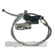 Lambretta Series 1, 2, 3 & GP HYDRAULIC FRONT DISC BRAKE MASTER CYLINDER / LEVER / HOUSING / HOSE Li/TV/SX/Special/GP