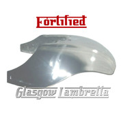 Lambretta Series 1 & 2 Li / TV FRONT MUDGUARD in HIGHLY POLISHED STAINLESS STEEL
