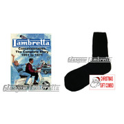 Xmas Combo!!! 3 Pairs Thermal Socks + Lambretta Concessionaires - The Complete Story 1951 to 1971 by Stuart Owen