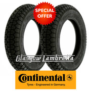 Continental CLASSIC TREAD 350 x 10 Set of 2 Scooter Tyres