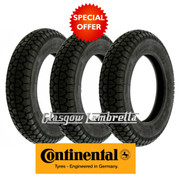 Continental CLASSIC TREAD 350 x 10 Set of 3 Scooter Tyres