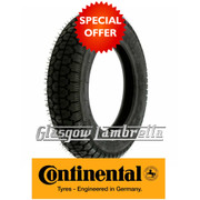 Continental CLASSIC TREAD 350 x 10 Single Scooter Tyre
