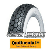 Continental K62 WHITEWALL 350 x 8 Set of 2 Tyres