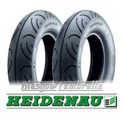 Set of 2 x Heidenau K61 100 x 90 x 10 Scooter Tyres