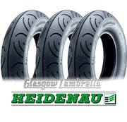 Set of 3 x Heidenau K61 100 x 90 x 10 Scooter Tyres