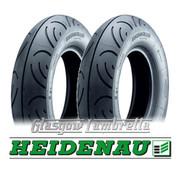 Heidenau K61 Scooter Tyre Combo = 1 of 350 x 10 + 1 of 100 x 90 x 10 (2 tyres)
