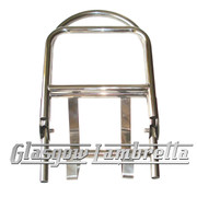 Lambretta S3 60's/ULMA STYLE POLISHED STAINLESS STEEL REAR RACK