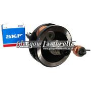 Lambretta Li/S1/S2/S3/125/150/SX Italian MEC CRANKSHAFT + SKF/FAG CRANK BEARING KIT