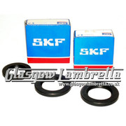 Lambretta S1, S2 & S3 Li/SX HIGH LOAD SKF/FAG CRANKSHAFT BEARINGS + ROLF SEALS KIT