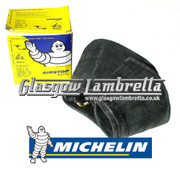 Michelin Airstop Tube Single for Lambretta  REAR WHEEL (90 degree) 350 x 10