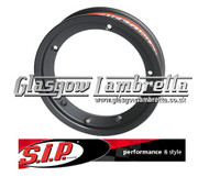 S.I.P. Vespa Single TUBELESS WIDE WHEEL RIM in BLACK