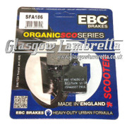 EBC Vespa PX, T5 (1998-2015) & LML Disc Brake Model FRONT BRAKE PADS (SFA186)