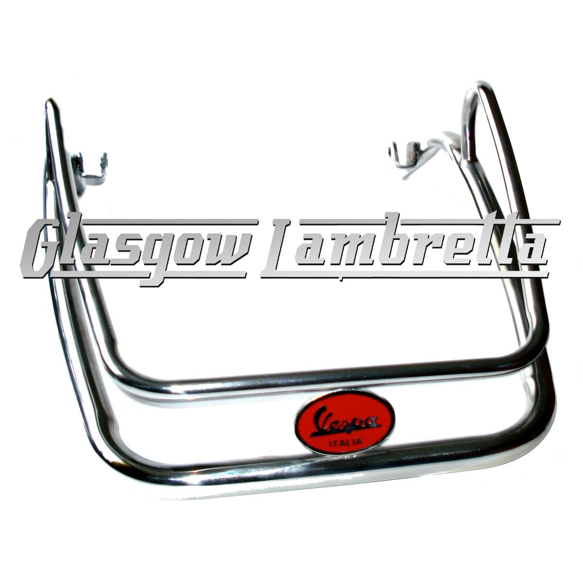 Vespa PX Scooter POLISHED STAINLESS STEEL FRONT MUDGUARD