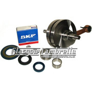 Vespa/LML PX 125/150  Italian MEC / TAMENI CRANKSHAFT+SKF/FAG/INA BEARINGS +SEALS KIT