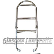 Vespa PX / LML 60's/ULMA STYLE POLISHED STAINLESS STEEL REAR RACK