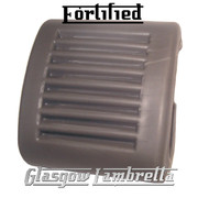 FORTIFIED Lambretta s1,2 & 3 Li/SX/TV/GP/DL GREY KICKSTART PEDAL RUBBER