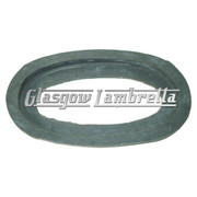 Lambretta S2 & S3 GREY OVAL AIRBOX BOTTOM RUBBER