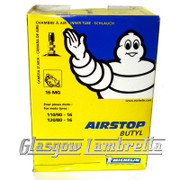 Set of 2 x MICHELIN AIRSTOP 16MG INNER TUBES 110/90-16 & 120/80-16
