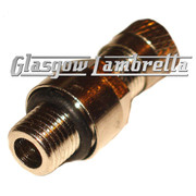 S.I.P. Vespa Single VALVE for TUBELESS WHEEL RIM (Front or Rear Wheel)