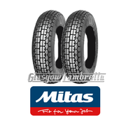 Mitas B13 350 x 8 Set of 2 for Vespa Sportique, Super, VBB, Douglas