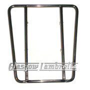 "Lambretta S3  POLISHED STAINLESS STEEL ""SPRINT"" REAR RACK A"