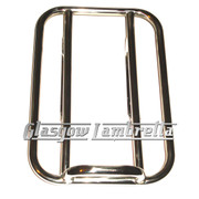 "Lambretta S3  HEAVY DUTY POLISHED STAINLESS STEEL ""SPRINT"" REAR RACK"