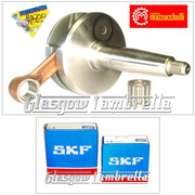 MAZZUCCHELLI Italian Lambretta GP/DL CRANKSHAFT 58/107mm + SKF/FAG CRANK BEARINGS KIT