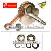 MAZZUCCHELLI Italian Vespa PX 125 / 150 CRANKSHAFT + CRANK BEARINGS & SEAL KIT