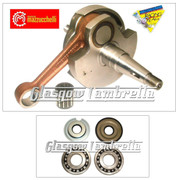 MAZZUCCHELLI Italian Vespa VNB, VBA, VBB, T4, TS CRANKSHAFT + BEARINGS & SEALS KIT