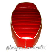 Vespa & LML  CLASSIC SLOPE BACK RACE SEAT  in RED & WHITE